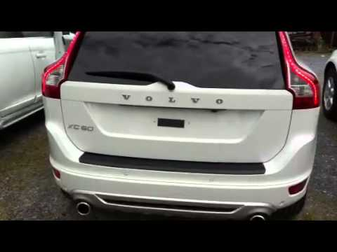 volvo xc60 my12 elektrische heckklappe youtube. Black Bedroom Furniture Sets. Home Design Ideas