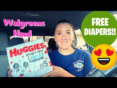 Walgreens Haul 8/9-15/2020 I FREE HUGGIES! I Ibotta & Fetch Rewards I Spend $30 Get 6k Pts Deal