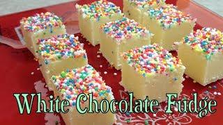 White Chocloate Fudge Video Recipe  Cheekyricho