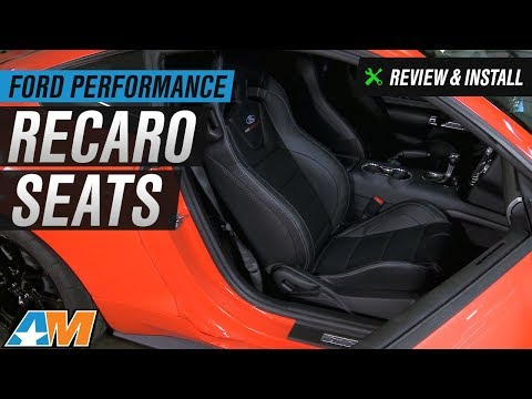 2015-2017 Mustang Ford Performance Recaro Seats Review & Install