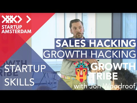 Growth Hackers Amsterdam Meetup - Sales Hacking with Jon Woodroof