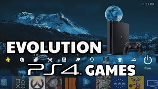 Evolution of PS4 Games 2013-2018
