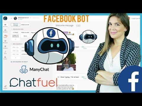 🤖 Cómo Crear El BOT Para Facebook Messenger | Tutorial
