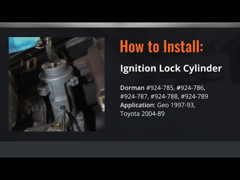 Toyota Ignition Lock Cylinder Repair by Dorman Products