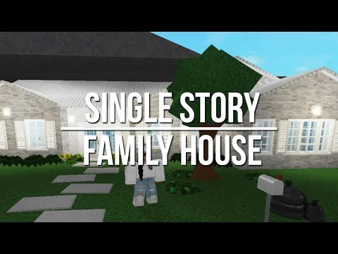 ROBLOX   Welcome to Bloxburg: Single Story Family House