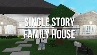 ROBLOX | Welcome to Bloxburg: Single Story Family House 90k
