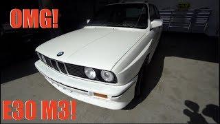 E30 M3! AT RACE SERVICE!