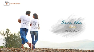 Satish and Shruthi Save The Date