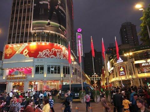 Guangzhou 2018 - walk around the city (Beijing street)