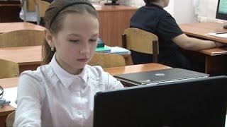 Шестиклассники из СОШ №45 приняли участие в акции «Час кода»