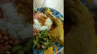 Makan sore sore pake ayam betutu, mantap!!! Video