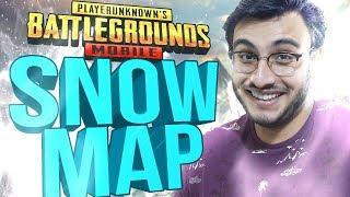 PUBG MOBILE INDIA: NEW SNOW MAP (VIKENDI) IS HERE! | 0.10 UPDATE