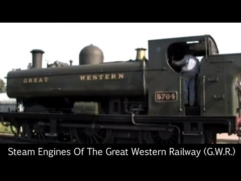 Steam Engines Of The Great Western Railway (G.W.R.)
