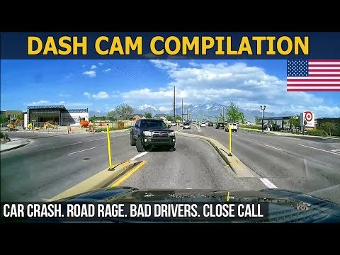 Dash Cam Compilation (USA) Car Crashes in America 2017 - 2018 # 61