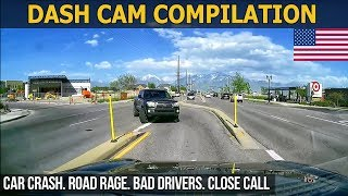 Dash Cam Compilation (USA) Car Crashes in America 2017 - 2018 # 18