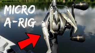 World's First MICRO A-Rig Fishing Lure (Does it Work???)