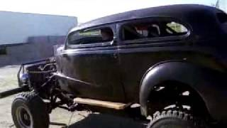 "American Thunder Customs Tv-video #36-christopher ""drives"" The Rat Rod!"