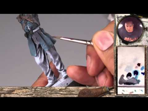 """PBA004 """"Corporal 19th Indiana"""" Part 1: How to paint a historical miniature (uniform & leather)"""