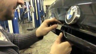 Ремонтопригодность ч.5. БМВ х5 на ходу на скорости открывается багажник.