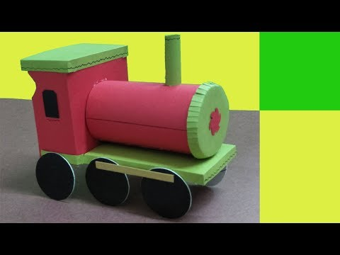 Make a paper Train Engine for kids || DIY || Art and Craft