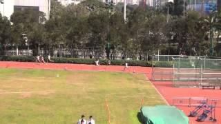 港九區D1中學學界田徑賽 2014-2015 BB 400m (Final)