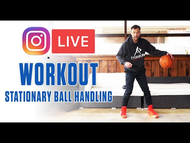 Ig Live Ball Handling Workout Work From Home Youtube