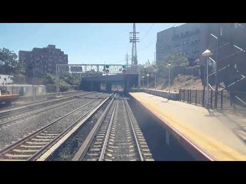 New York City up-close - LIRR train from Penn Station to Jamaica Station