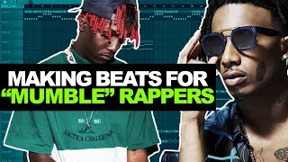 MAKING CRAZY BEATS FOR MUMBLE RAPPERS IN FL STUDIO + FREE DRUM KIT! (Playboi Carti, Lil Yachty)