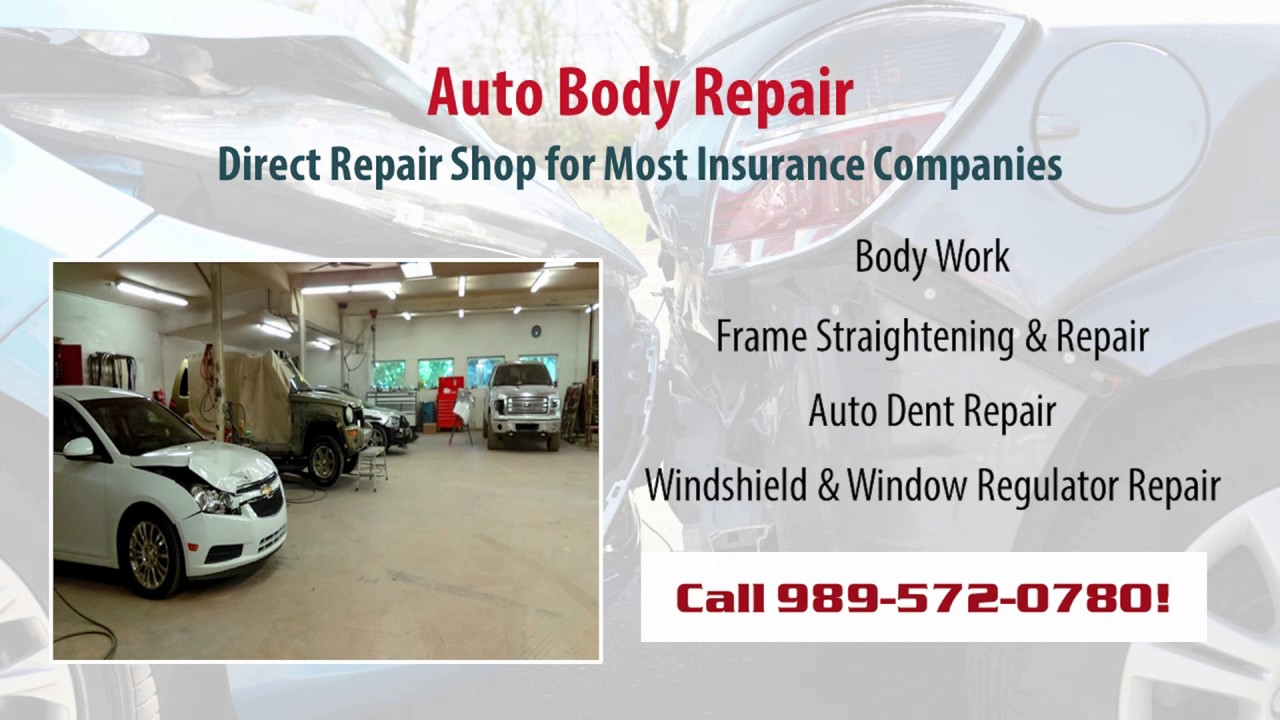 Powell Frame & Collision | Shepherd MI Auto Body Repair and Painting ...