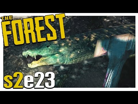 UPDATE! CROCODILE HUNT | The Forest Gameplay S2E23 (Alpha v0.19)