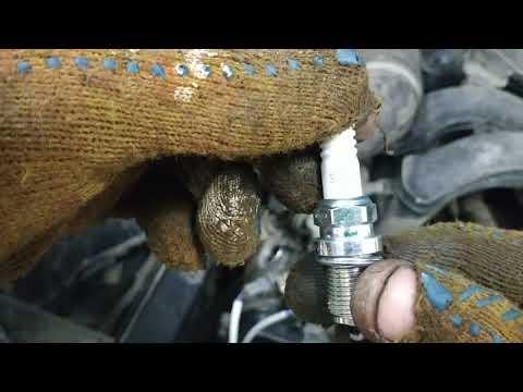Замена свечей зажигания на автомобиле субару аутбек