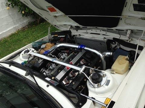 BMW M42 dbilas Dynamic turbo first startup,