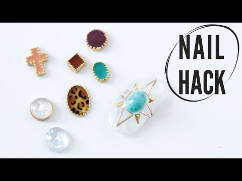 NAIL HACK | DIY 3D NAIL JEWELRY