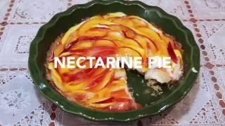 Homemade Nectarine Pie