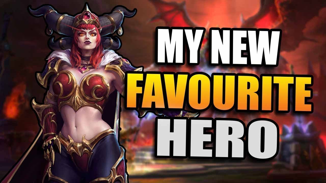 Alexstrasza How To Make Her Work Heroes Of The Storm Youtube