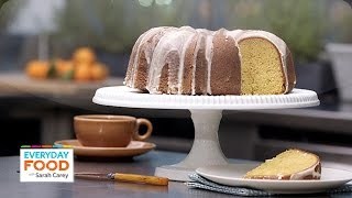 Tangerine Cake With A Citrus Glaze - Everyday Food With Sarah Carey