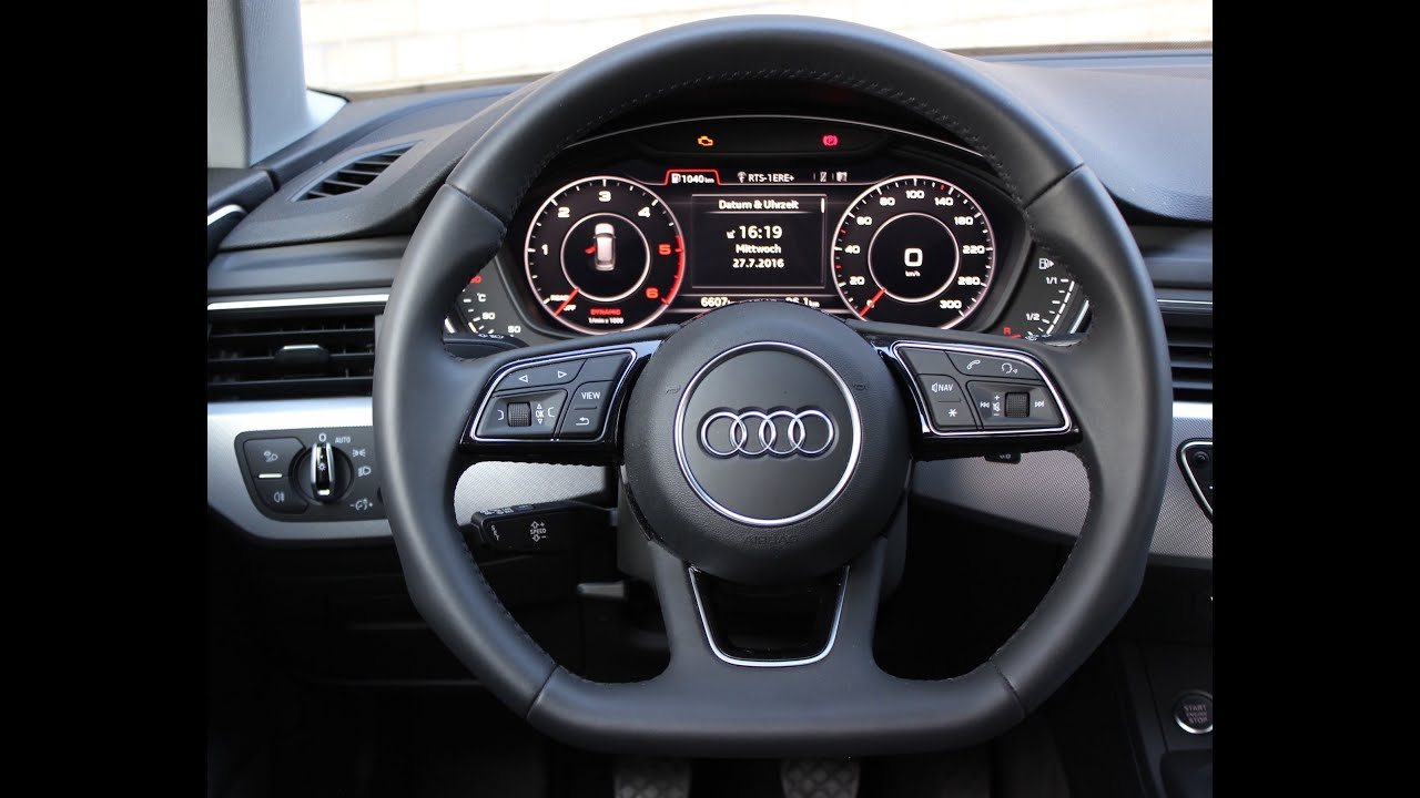audi a4 b9 2 0 tdi 150 ps 0 100 km h acceleration youtube. Black Bedroom Furniture Sets. Home Design Ideas