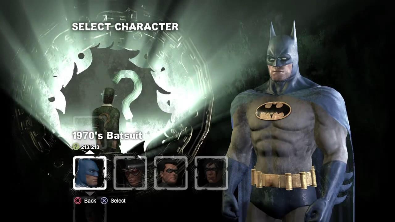 Batman Arkham City Dark Knight Skin Code