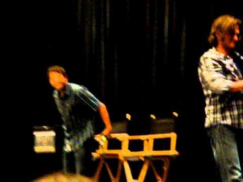 Misha says moist, Jared freaks out