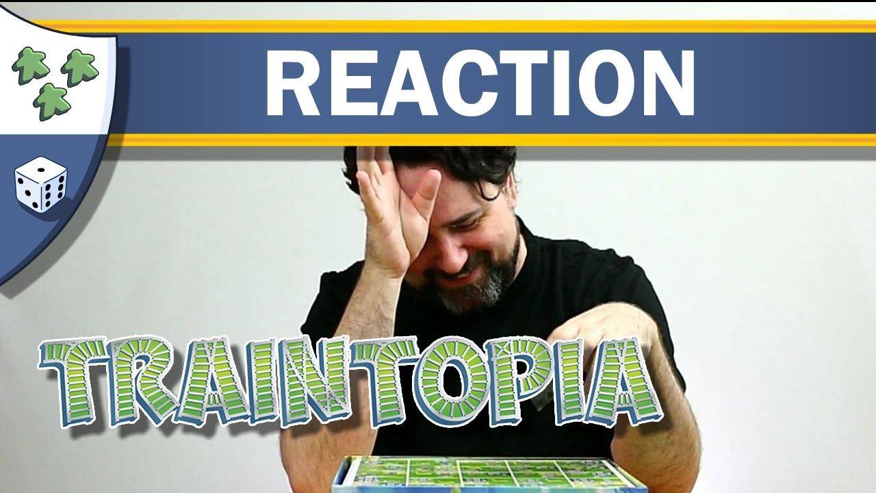 Traintopia Unboxing Reaction