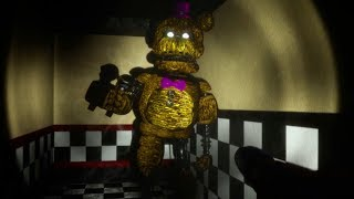 DO NOT HACK THE GAME OR IGNITED FREDBEAR WILL GET YOU. | Fredbear and Friends Spring Locked (ENDING)