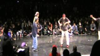 Juste debout 2012 Rhythmalism vs フォーマーアクション