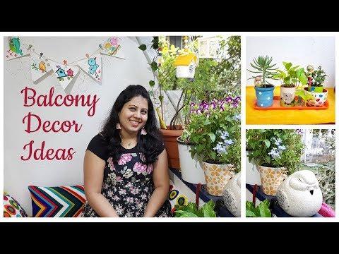 Balcony Organization Ideas | My Balcony Tour | Balcony Decor Idea
