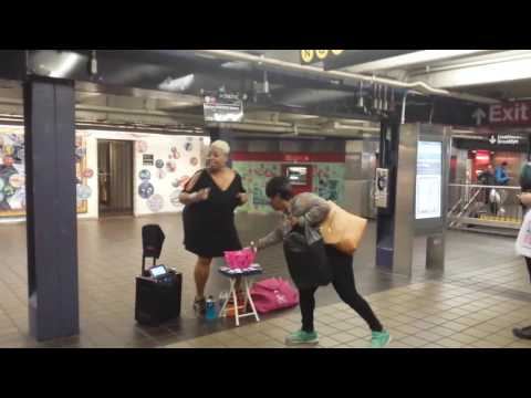 New York subway singer