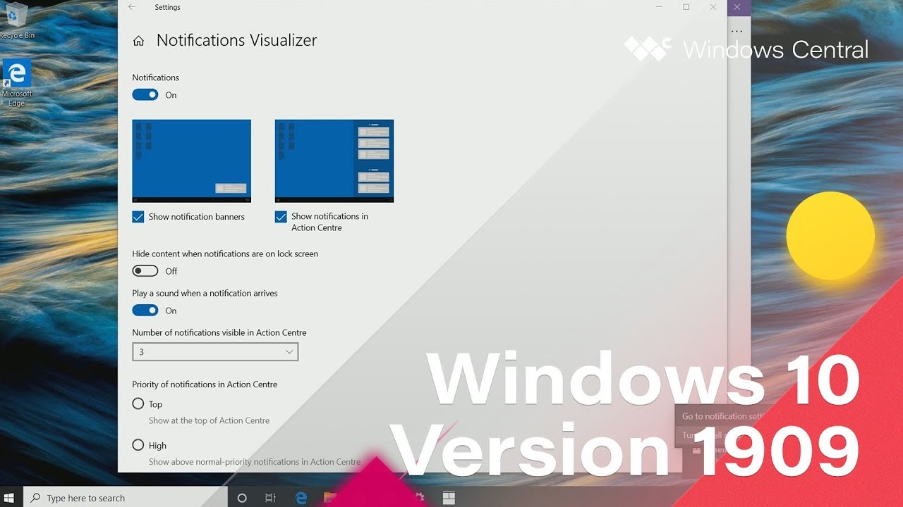 Windows 10 November 2019 Update - Official Release Demo (Version 1909)