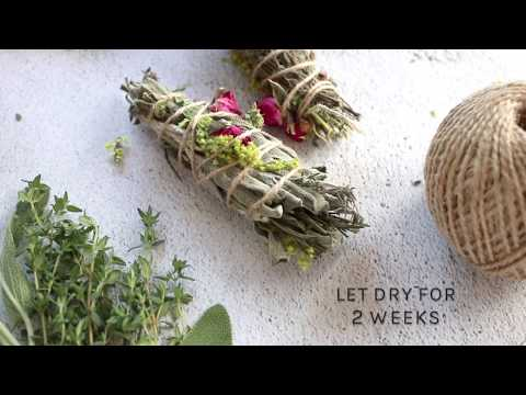 DIY Smudge Sticks