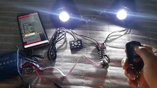 블루투스오토바이스피커(LED T6)30W고출력 깔끔한음…