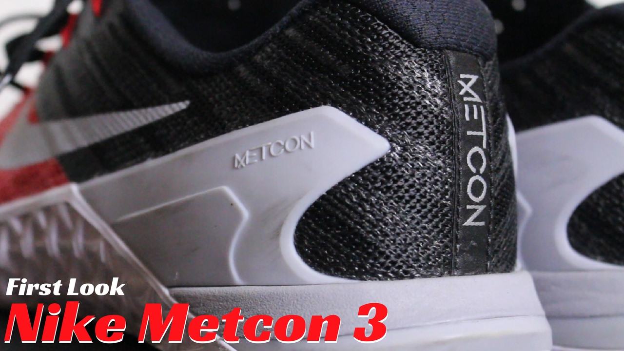Nike Metcon 3 | First Look | No More Reebok for Me!