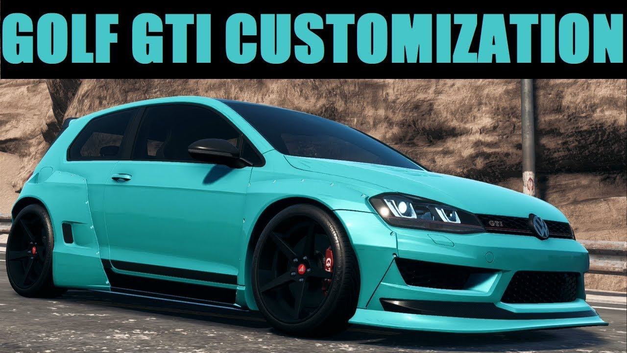 Vw Golf Gti Customization Need For Sd Payback Play