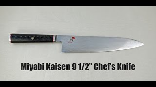 """Miyabi Kaisen 9 1/2"""" Chef's Knife Review"""